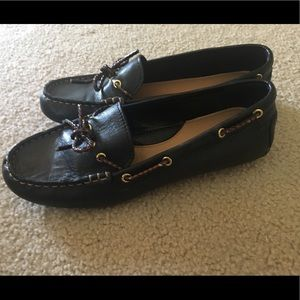 Tommy Hilfiger brown leather Women's  shoes 8 1/2